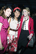 l to r: Jennifer Ouelette, Yasmine Dalisay, and Cece Gehrig at the Launch of Ouellete Hats for Men held at The Empire Hotel Rooftop on March 12, 2009 in New York City ..Jennifer Ouellette's presence in the fashion world continues to grow. Her designs have appeared in Vogue, W, In Style, Glamour, Domino, Modern Bride and Harper's Bazaar. Her work has been recognized in the fashion pages of the New York Times, seen on the NBC Today show and is frequently featured in the Barneys New York catalogs. Such luminaries as Jessica Simpson, Winona Ryder, Jennifer Lopez, Sarah Jessica Parker, Gwen Stefani, Britney Spears, Hilary Duff, Angelina Jolie and Deborah Messing are often seen wearing her hats and accessories.