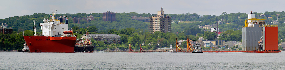 "Floating Dry Dock ""Blue Marlin"" in Upper New York Bay"