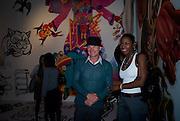 STING, Exhibition opening ' Alan Aldridge- The Man With Kaleidoscope Eyes' hosted by his daughter Saffron Aldridge. Design Museum. Shad Thames. London  SE1. *** Local Caption *** -DO NOT ARCHIVE -Copyright Photograph by Dafydd Jones. 248 Clapham Rd. London SW9 0PZ. Tel 0207 820 0771. www.dafjones.com