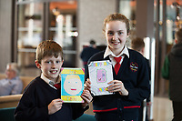 Each year over 6,000 primary school children in County Galway write and submit books in English and Irish. The winning entries are recognised in a major Awards&rsquo; Ceremony attended by an average of 1,500 attendees each year held in the Galmont Hotel.<br /> One of this years young authors was Iarla and Tara Kenny from Carnmore National school.<br />    Photo:Andrew Downes, XPOSURE .