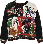 worst christmas jumper<br /> Christmas prezzies are great, so long as its not slippers, sock, or the dreaded festive jumper. And it seems that has been the case throughout recent history, but just which are the world s worst Christmas Jumpers or All Time. Thankfully, Collector s Weekly has checked it out for us all Gran, take notice. Anything that looks like these, leave the shelf. The magazine writes: Every December, people of all stripes make the rounds of their neighbourhood Christmas parties decked in their ugliest Christmas sweaters. Prizes are often offered at these seasonal soirees for the tackiest v-neck or wool knit, sparking fierce competition among family and friends. If you havent snagged your piece of atrocious holiday outerwear yet, we know where you can glory in the gaudy, revel in the revolting, and win that coveted prize: our ugly Christmas sweaters page. In honour of the 12 days of Christmas, we've ranked our favourites from best to worst (or is it the other way around?). So pop a dramamine, sit back, and enjoy. Some are still for sale, but hurry: with looks this ugly, these sweaters wont last. This in order of the picture numbers. 12. One of the hallmarks of a truly ugly Christmas sweater is three-dimensionality. In the case of this vaguely patriotic 1980s beauty from Bravo, bows, beads, pom poms, and fabric candy canes protrude from the sweaters acrylic knit surface. If only that mantel clock actually worked. 11. Heres a handsome blue crewneck from Traditional Trading Co. that signals your holiday spirit and fondness for skiing, even if that means occasionally doing so upside down. Apparently, snowboarders know better than to wear a garment as tacky as this. 10. Awww. What could be cuter than fluffy white kittens playing with a ball of ribbon and an open Christmas box? How about anything. 9. This mock turtleneck from Cabin Creek proves that even the most innocuous imagery (a snowman in a hat, and cabin in the woods) can get deliciously ugly when 