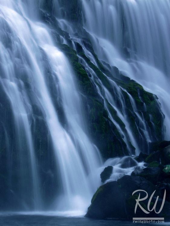 Middle Falls McCloud River, McCloud, California