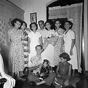 Pictures by Bertram Rulach.<br /> L to R -  Barbara Rulach, Lorraine Anderson, Phyllis (Girla) Anderson (dec), Dr Trevor Phillips (dec), Sheila Philips (dec) , June Balthazar (dec) , Starling Keegel (dec) <br /> Seated - Dr Arthur (Gigi) Anderson, Carina Keegel (Starling's daughter)<br /> Phyllis, Sheila, June, Starling and Gigi are my mother Barbara's siblings