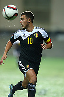Eden Hazard of Belgium during the UEFA European Championship 2016 qualifying Group B football match between Andorra and Belgium on October 10, 2015 at The Estadi Nacional in Andorra la Vella, Andorra. <br /> Photo Manuel Blondeau/AOP Press/DPPI