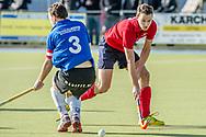 16-03-2014 : HOCKEY :  MHC BARNEVELD - HC ZEEWOLDE : BARNEVELD<br /> Bart Schopman van HC Zeewolde<br /> 3e klasse Heren - Seizoen 2013 / 2014<br /> <br /> Foto: Gertjan Kooij