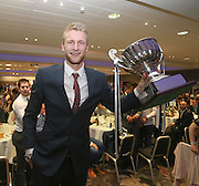 Scott Bain was awarded with the Andrew De Vries trophy as Dundee FC's Player of the Year at the Dundee Supporters Association Player of the Year awards at the Apex Hotel<br /> <br />  - &copy; David Young - www.davidyoungphoto.co.uk - email: davidyoungphoto@gmail.com