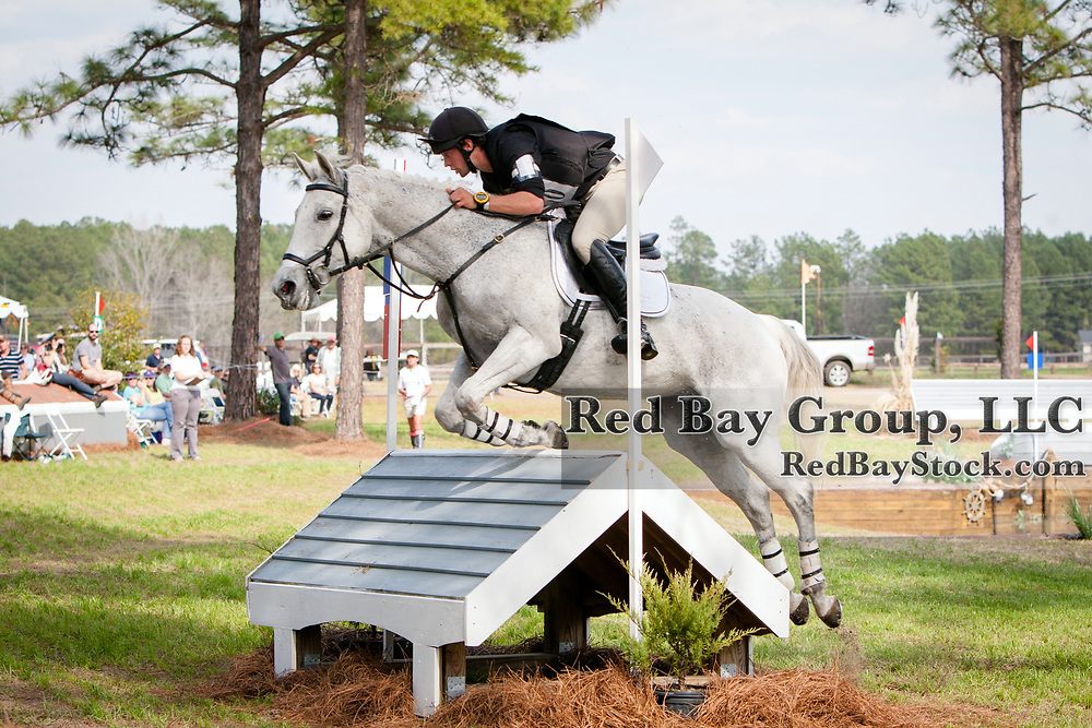 Frederick Lagimoniere (CAN) and Esmeralda at the Carolina International in Raeford, North Carolina.