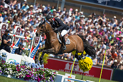 Delaveau Patrice (FRA) - Carinjo HDC<br /> Grand Prix Longines de la Ville de La Baule<br /> Longines Jumping International La Baule 2014<br /> © Hippo Foto - Dirk Caremans