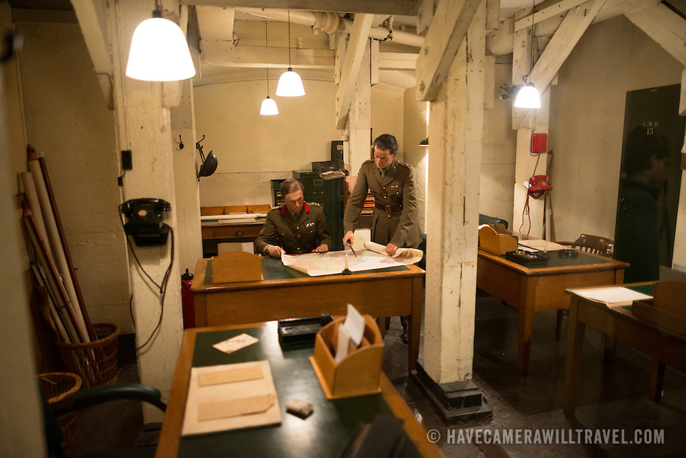 Churchill war rooms london advanced headquarters of the ghq home forces have camera will - Churchill war cabinet rooms ...