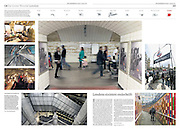 Underground London feature for NRC Handelsblad Newspaper, Netherland