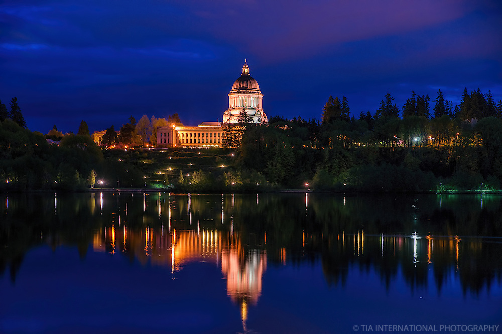 Washington State Capitol & Capitol Lake