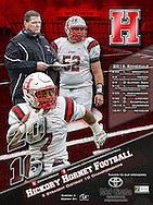 2016 Hickory Football Schedule Poster