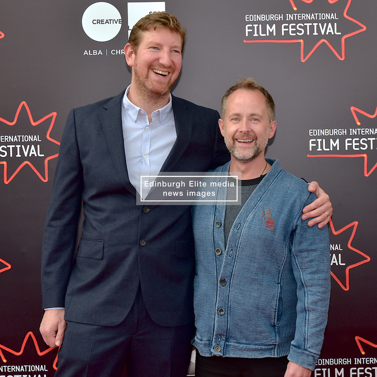 Left to Right, Benjamin Turner(Director) and Billy Boyd attend the World Premiere of White Island during the 2016 Edinburgh International Film Festival, UK  at Cineworld, Edinburgh, 23rd June 2016, (c) Brian Anderson | Edinburgh Elite media