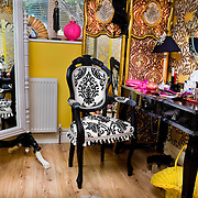 The Burlesque performer's bedroom