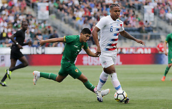 May 28, 2018 - Chester, PA, USA - Chester, PA - Monday May 28, 2018:  Weston McKennieduring an international friendly match between the men's national teams of the United States (USA) and Bolivia (BOL) at Talen Energy Stadium. (Credit Image: © John Dorton/ISIPhotos via ZUMA Wire)