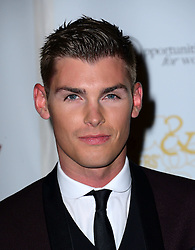 Kieron Richardson attends Out In The City and g3 Readers' Awards, second annual awards thrown by gay magazines g3 and Out In The City, recognising outstanding individuals, companies and groups in the field of LGBT equality, at The Landmark Hotel,  London, United Kingdom. Friday, 25th April 2014. Picture by Nils Jorgensen / i-Images