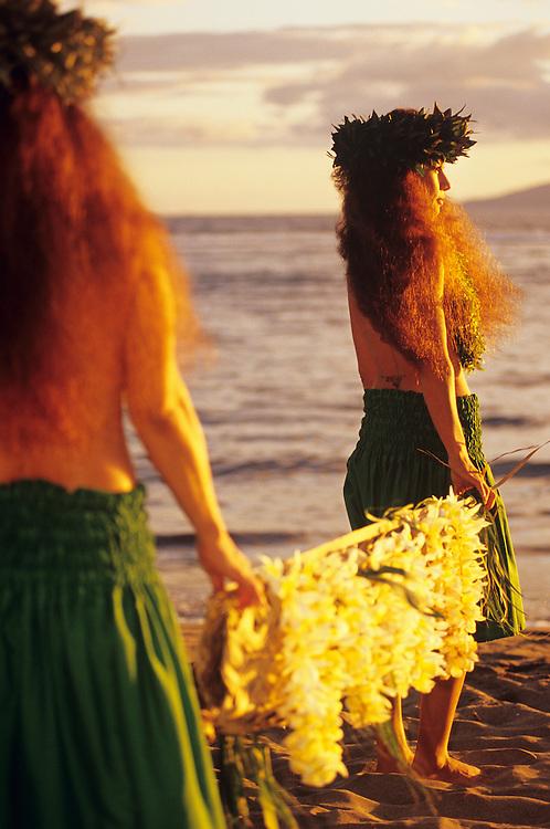 Hawaii, Maui, The Valley Island,, Feast of Lele, Lahaina