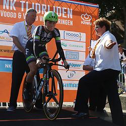 22-06-2016: Wielrennen: NK tijdrijden Vrouwen: Goeree Overflakee    MIDDELHARNIS (NED) wielrennen