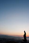 Congonhas_MG, Brasil...Santuario de Bom Jesus do Matozinhos, com esculturas do mestre Aleijadinho (Antonio Francisco Lisboa)...The sanctuary of Bom Jesus do Matozinhos with sculptures of the master Aleijadinho (Antonio Francisco Lisboa)...Foto: LEO DRUMOND / NITRO