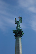 Eastern Europe, Hungary, Budapest, Hosok Tere (Heroes Square)