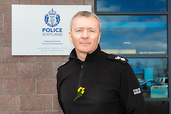 Divisional Chief Superintendant, Julian Innes, Police Scotland - Highlands and Islands.<br /> <br /> (c) Malcolm McCurrach | EdinburghElitemedia.co.uk<br /> <br /> Notes: Police Scotland seize drugs worth £117,000 following Highland raids.