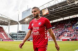 16-08-2017 NED: Europa League FC Utrecht - Zenit St. Petersburg, Utrecht<br /> Zakaria Labyad #10 of FC Utrecht scoort de winnende 1-0