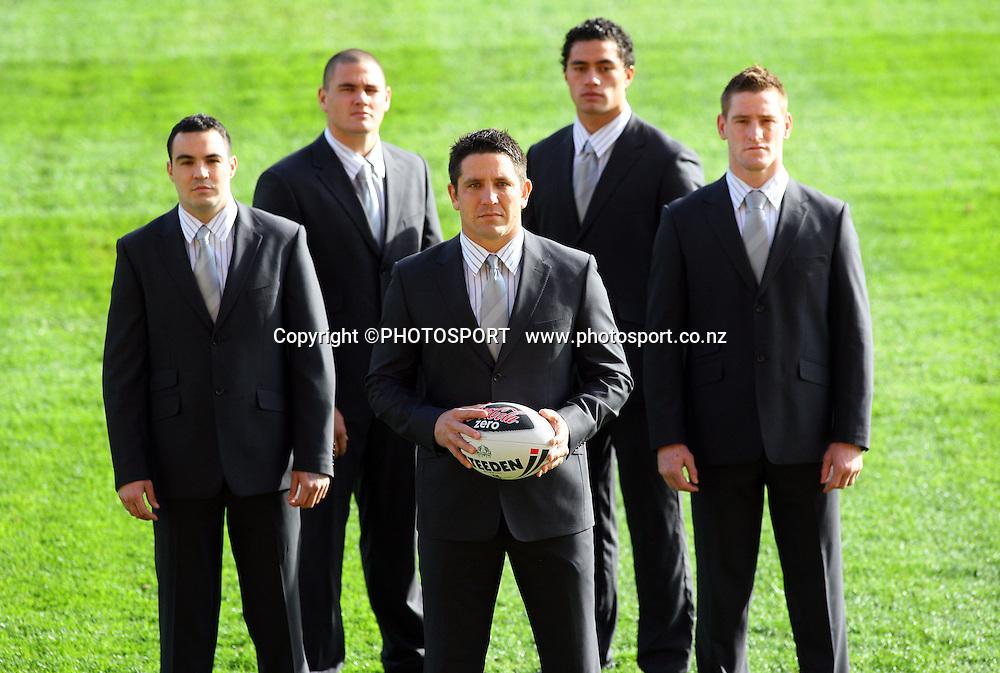 Warriors Photoshoot, Mt Smart Stadium, Auckland, Wednesday 18 June 2008. Photo: Andrew Cornaga/PHOTOSPORT