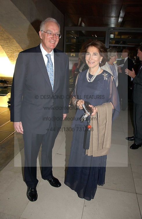 TIMOTHY STEVENS and BARONESS RAWLINGS at the opening reception of 'Bejewelled by Tiffany 1837-1987' at The Gilbert Collection, Somerset House, London on 21st June 2006.