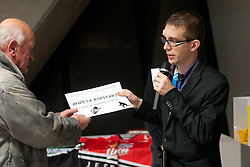 Janko Popovic na okrogli mizi na 1. slovenskem hokejskem forumu v organizaciji SportForum Slovenija, November 30, 2011, Kristalna Palaca, BTC City, Ljubljana, Slovenija. (Photo By Matic Klansek Velej / Sportida)