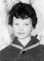 Lesley Ann Downey, aged 10, whose body was found in a shallow grave on Saddleworth Moors near Manchester in 1966. Myra Hindley and Ian Brady were jailed for life for the killing. 21/8/96: Lesley's grave desecrated. 6/2/99: Ann West, Lesley's mother, died aged 69.  * Ms West campaigned against release of Myra Hindley.
