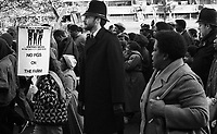 Protesting murder of Cynthia Jarrett at Broadwater Farm & asking government to Free Winston Silcott & end State Racism London protest 1980s