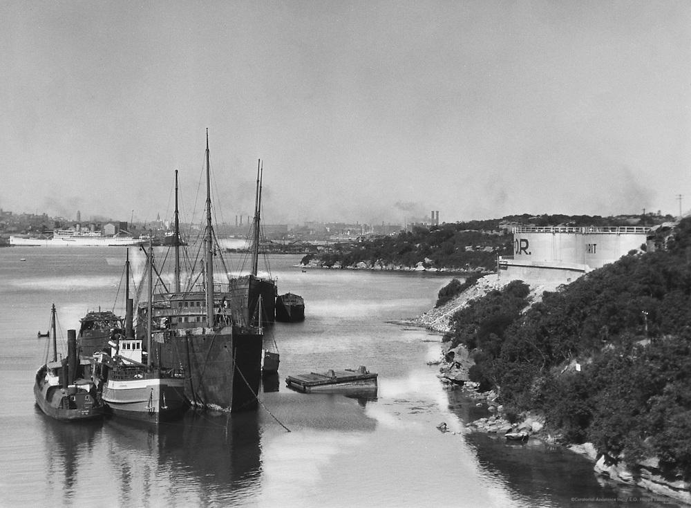 Sydney Harbour, Austalia, 1930