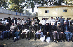 Former Taliban prisoners attend a ceremony in Nangarhar province of eastern Afghanistan, on Jan. 3, 2013. A total of 20 Taliban prisoners were released from Bagram Prison, formerly controlled by the U.S. forces in the country. Their release was secured in the mediation of Afghan High Peace Council, a committee in charge of brokering peace with the Taliban, official said on Thursday, January 3, 2013. Photo by Imago / i-Images...UK ONLY