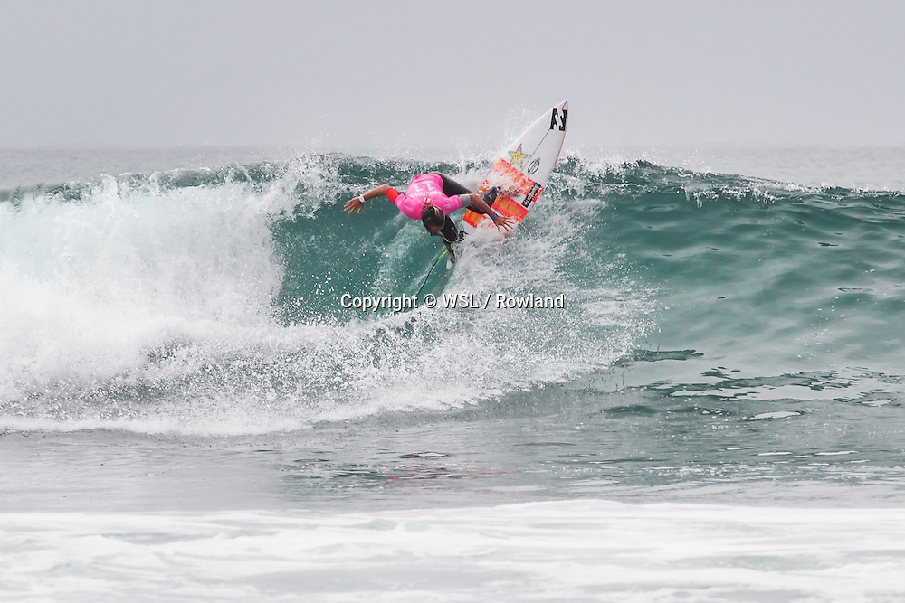 Courtney Conlogue placed second in Heat 4 of Round One at the Swatch Women's Pro.