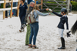 Langehanenberg Helen, GER, Goldman Tiffany<br /> World Championship Young Dressage Horses - Ermelo 2019<br /> © Hippo Foto - Dirk Caremans<br /> Langehanenberg Helen, GER, Goldman Tiffany