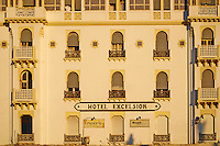 Maroc, Casablanca, place des Nations Unis, Hotel Excelsior// Morocco, Casablanca, United Nation (Nation Unis) square, Excelsior hotel