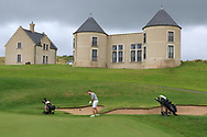 Peter Sheehan (Ballybunion) on the 17th green during Round 2 of The Ulster Seniors Open Championship in Lough Erne Golf Club, Enniskillen, Co. Fermanagh on Tuesday 30th July 2019.<br /> <br /> Picture:  Thos Caffrey / www.golffile.ie<br /> <br /> All photos usage must carry mandatory copyright credit (© Golffile | Thos Caffrey)