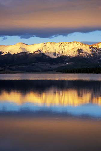 Meadow Creek Reservoir, Medicine Bow, Rocky Mountains