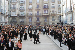 A general view of atmosphere prior the Chanel show as part of the Paris Fashion Week Womenswear Spring/Summer 2015 at the Grand Palais in Paris, France on September 30, 2014. Photo by Alain Gil-Gonzalez/ABACAPRESS.COM