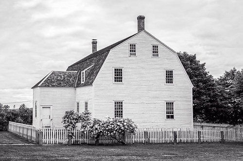 The Meetinghouse at Canterbury Shaker Village, NH.  <br />
