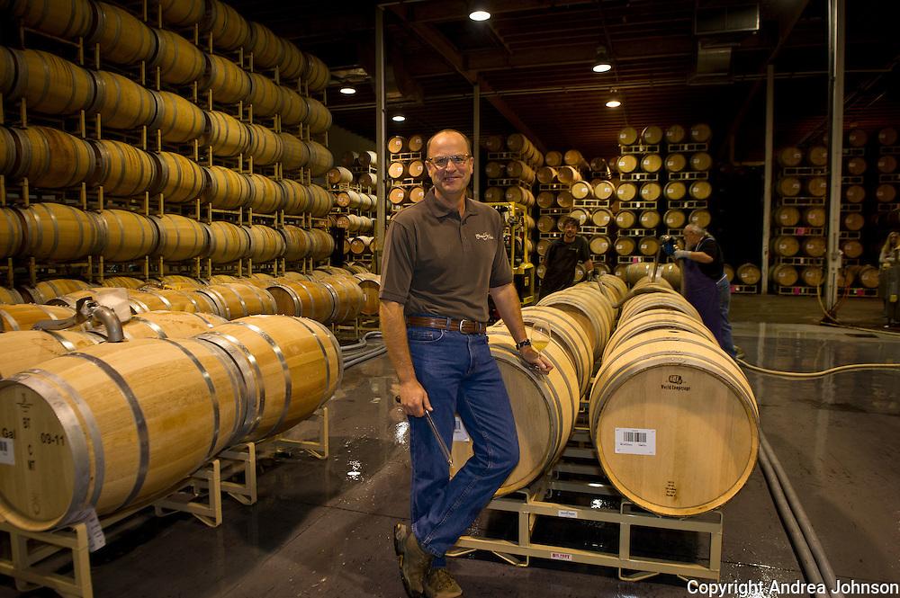 Bob Bertheau, head winemaker, Chateau Ste. Michelle, Washington