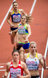 Anita Horvat of Slovenia competes in the Women's 400 metres heats on day one of the 2017 European Athletics Indoor Championships at the Kombank Arena on March 3, 2017 in Belgrade, Serbia. Photo by Ronald Hoogendoorn / Sportida