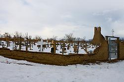 Taos Pueblo Cemetery<br />