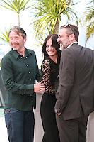 Mads Mikkelsen, Eva Green and Jeffrey Dean Morgan at the photo call for the film The Salvation at the 67th Cannes Film Festival, Saturday 17th May 2014, Cannes, France.