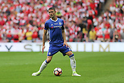Chelsea's Gary Cahill(24) on the ball during the The FA Cup final match between Arsenal and Chelsea at Wembley Stadium, London, England on 27 May 2017. Photo by Shane Healey.