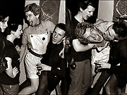 The Damned backstage party