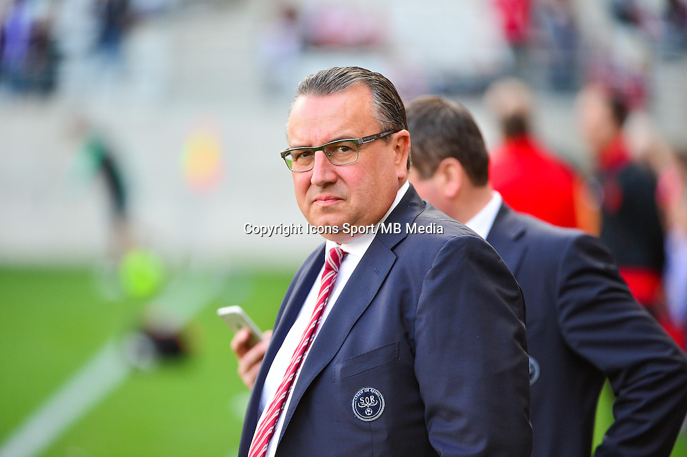 Jean Pierre CAILLOT  - 12.04.2015 - Reims / Nice - 32eme journee de Ligue 1 <br />Photo : Dave Winter / Icon Sport