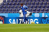 GEPA-1706086802 - SALZBURG,AUSTRIA,17.JUN.08 - FUSSBALL - UEFA Europameisterschaft, EURO 2008, Nationalteam Griechenland, Abschlusstraining. Bild zeigt Teamchef Otto Rehhagel (GRE). <br />Foto: GEPA pictures/ Felix Roittner