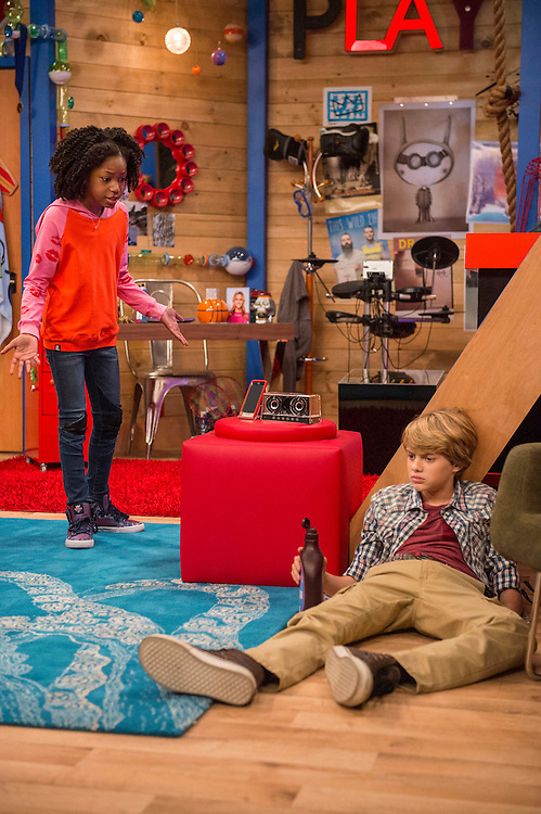 Jace Norman, Riele Downs <br />