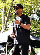 Denzel Washington appears at the 4th Annual Central Park SummerStage R&B Fest at Rumsey Playfield on August 12, 2012.